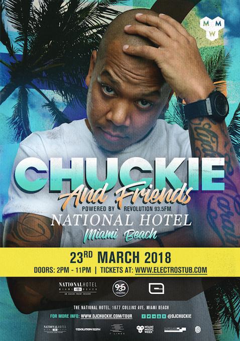 Chuckie announces Miami Music Week Pool Party 2018